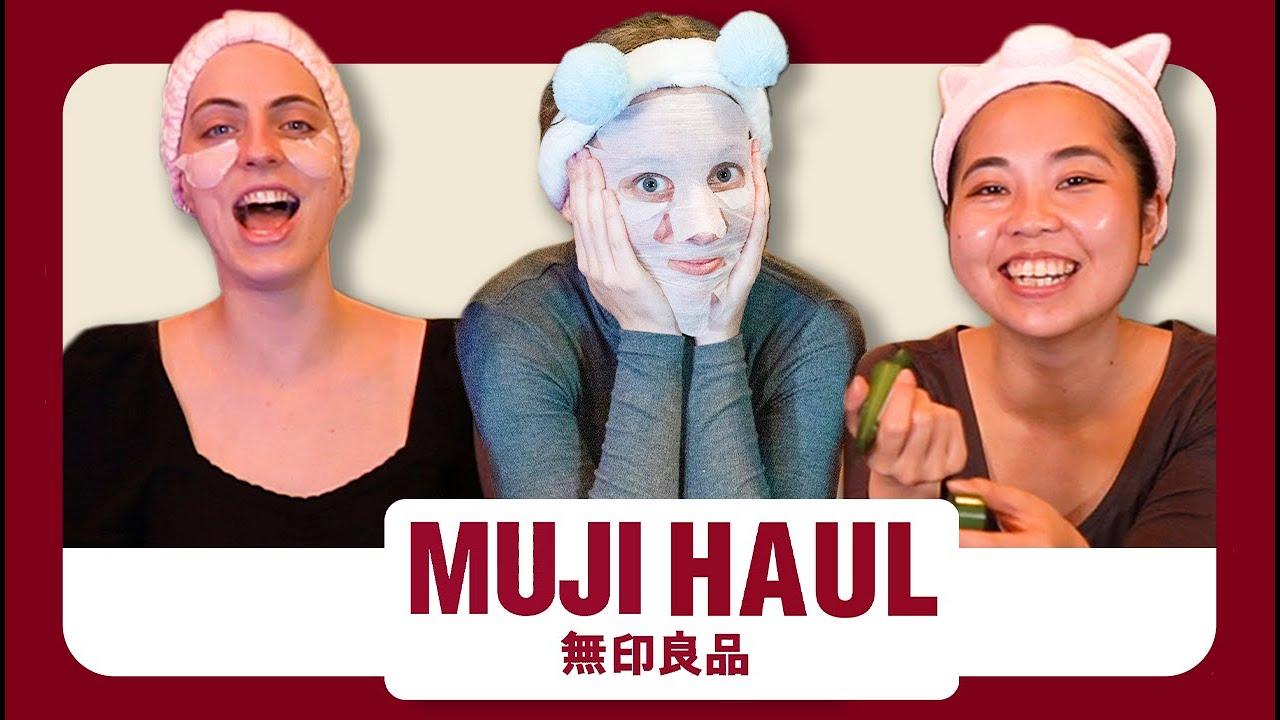 $100 MUJI Beauty & Makeup Haul