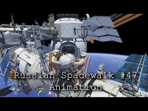 Russian Spacewalk #47 Animation
