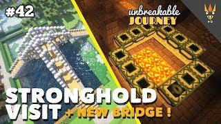 FURNITURE BARU, JEMBATAN BARU & KE STRONGHOLD! - Minecraft Indonesia #42
