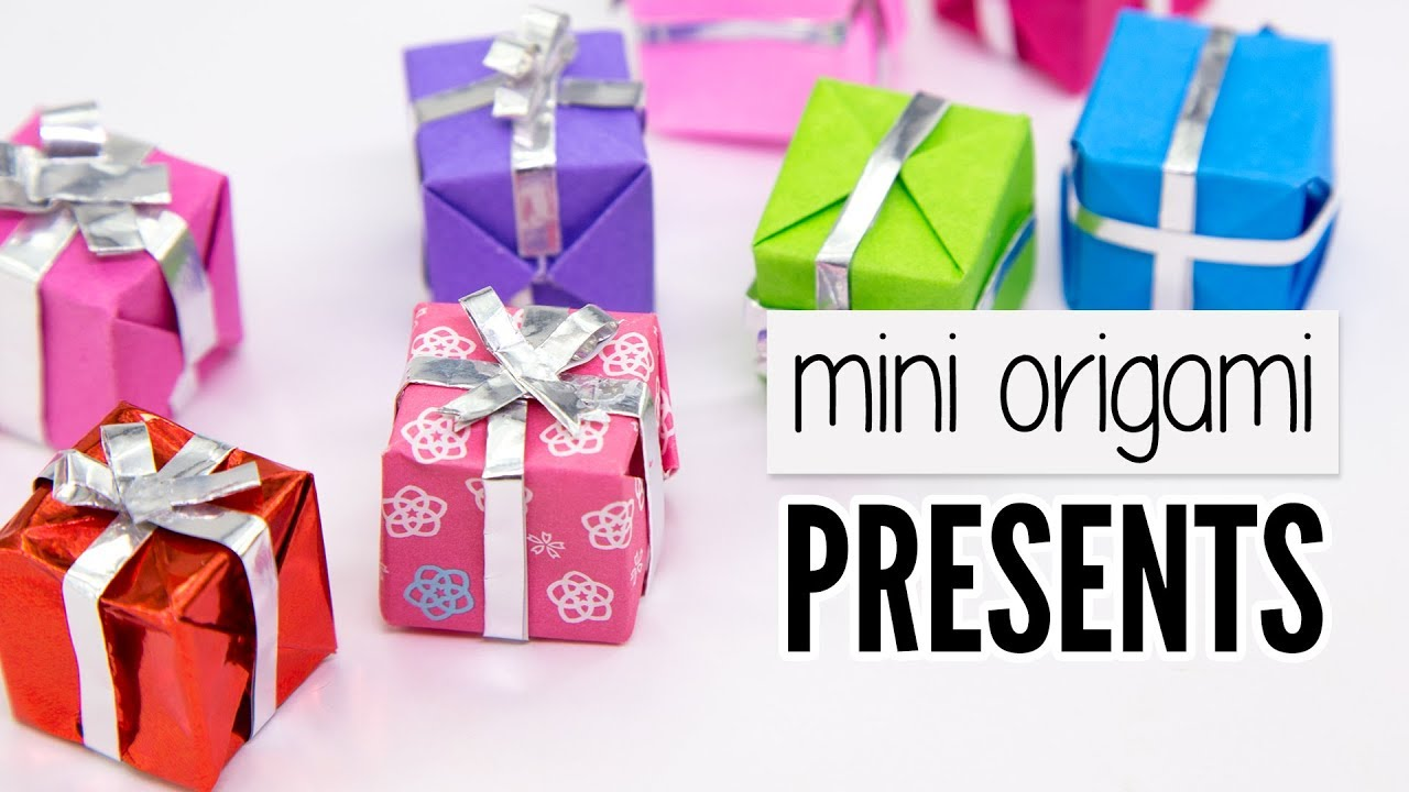 How to DIY Paper Origami Gift Box with Lid | Papperspyssel ... | 720x1280