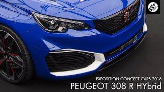 Peugeot 308 R Hybrid 2016 Videos