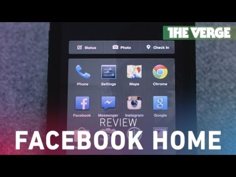Facebook Home hands-on review