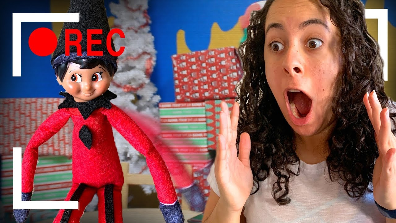 Bad Elf On A Shelf Caught Moving Youtube