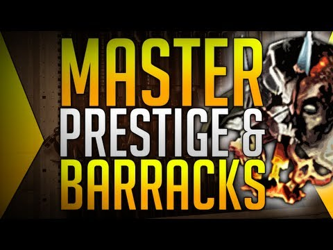 Black Ops 2: MASTER PRESTIGE! & BARRACKS :D
