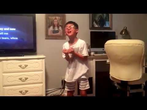 Down To Earth Karaoke Sing by Preston!