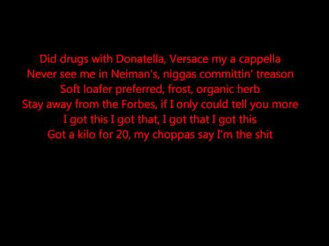 Millions - Pusha T Ft. Rick  Ross (LYRICS) (HQ)
