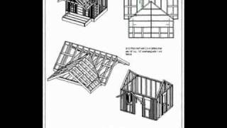 Children's Backyard Playhouse 8' X 10' Plan