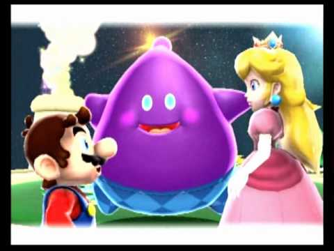 princess peach Super mario galaxy