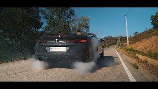 Первый тест BMW M8.Competition Что с тобой????