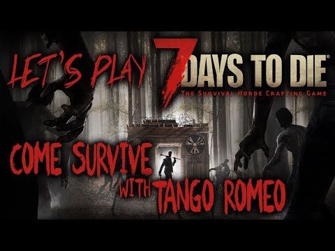7 Days to Die Weekend Alpha 16  EP 10 Base Building and day 28 Horde Flop