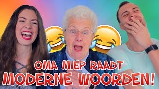 Oma Miep Raadt MODERNE WOORDEN! | #Furbruari