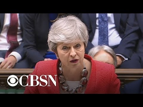 British lawmakers reject Prime Minister Theresa May's Brexit plan again – CBS World News