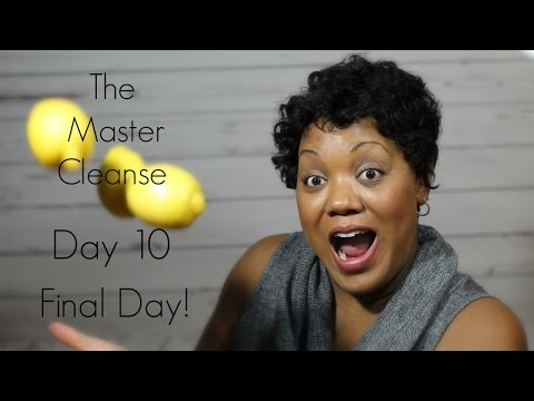 My final weigh-in Day 10 Master Cleanse 2017 w/photos