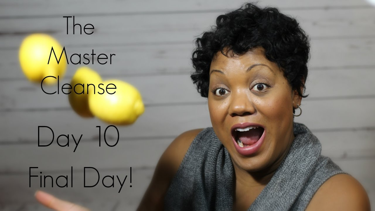master cleanse tongue