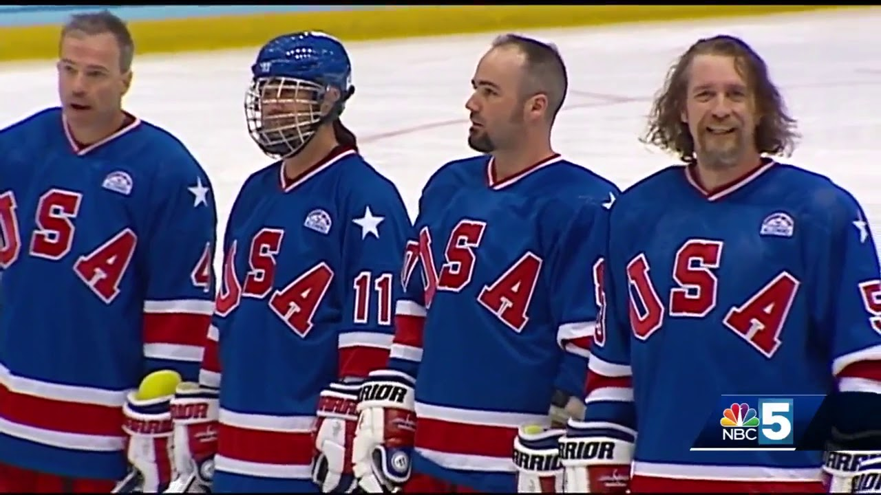 Olympic Hockey Fans Relive Miracle On Ice In Lake Placid Youtube