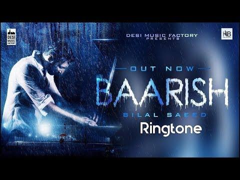 Barish Bilal Saeed Ringtone Download 2018   Barish Song Ringtone MP3