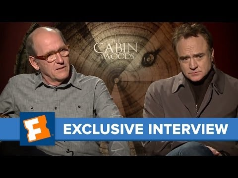 """The Cabin In The Woods"" Richard Jenkins and exclusive interview 