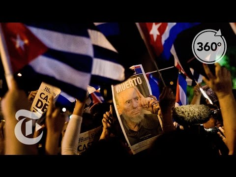 Little Havana Reacts to Fidel Castro's Death | The Daily 360 | The New York Times