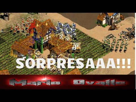 UN ATAQUE SORPRESA DE THE VIPER. GRAN DUELO 2 X 2 AGE OF EMPIRES 2