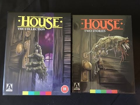 House The Collection Arrow Video Blu-ray Boxed Set Unboxing - U.S. Vs. U.K.