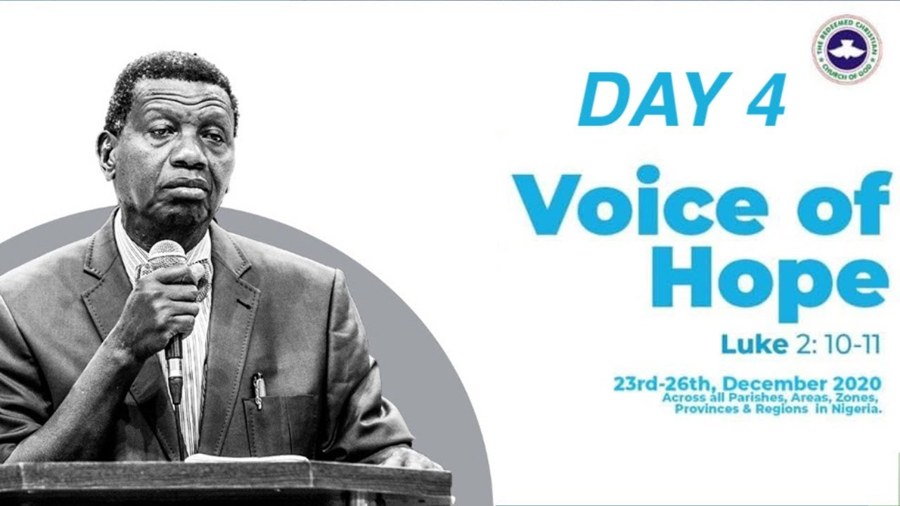 Download PASTOR E.A ADEBOYE SERMON - VOICE OF HOPE - REMO/BADAGRY/REDEMPTION CAMP
