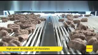 """Episode 7 - M-430iA robots in Food Industry. """"Pick&Place"""" of chocolates (WOW Technology)"""