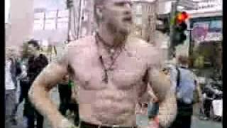 Technoviking on (Jackass) Party Boy Song