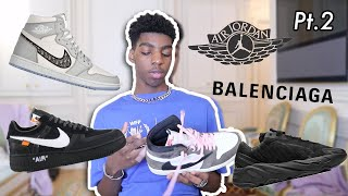 ALL MY SNEAKERS PT.2 (OFF WHITE, BALENCIAGA, AIR DIOR...) - OYELI NG