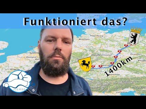 Im Elektroauto durch Deutschland - Was zu beweisen wäre - 1400km Roadtrip