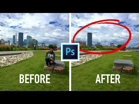 How To Remove ANY Thing In A Picture Using Photoshop CC 2019 / 2020