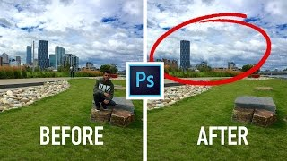 Video How to Remove ANY thing in a Picture using Photoshop CC 2017/2018 download MP3, 3GP, MP4, WEBM, AVI, FLV Agustus 2018