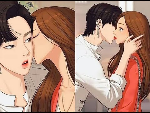 The Secret Of Angel | Jukyung & Seojun Kiss Moments |webtoon