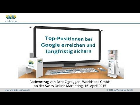 Swiss Online Marketing 2015: Top-Positionen bei Google erreichen und langfristig sichern