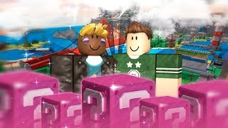LUCKY BLOCKS ROSEEpic IN ROBLOX WITH MASSI
