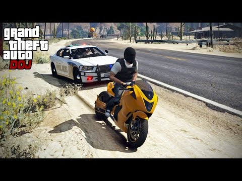 GTA 5 Roleplay - DOJ 396 - Fastest Speeding Ticket