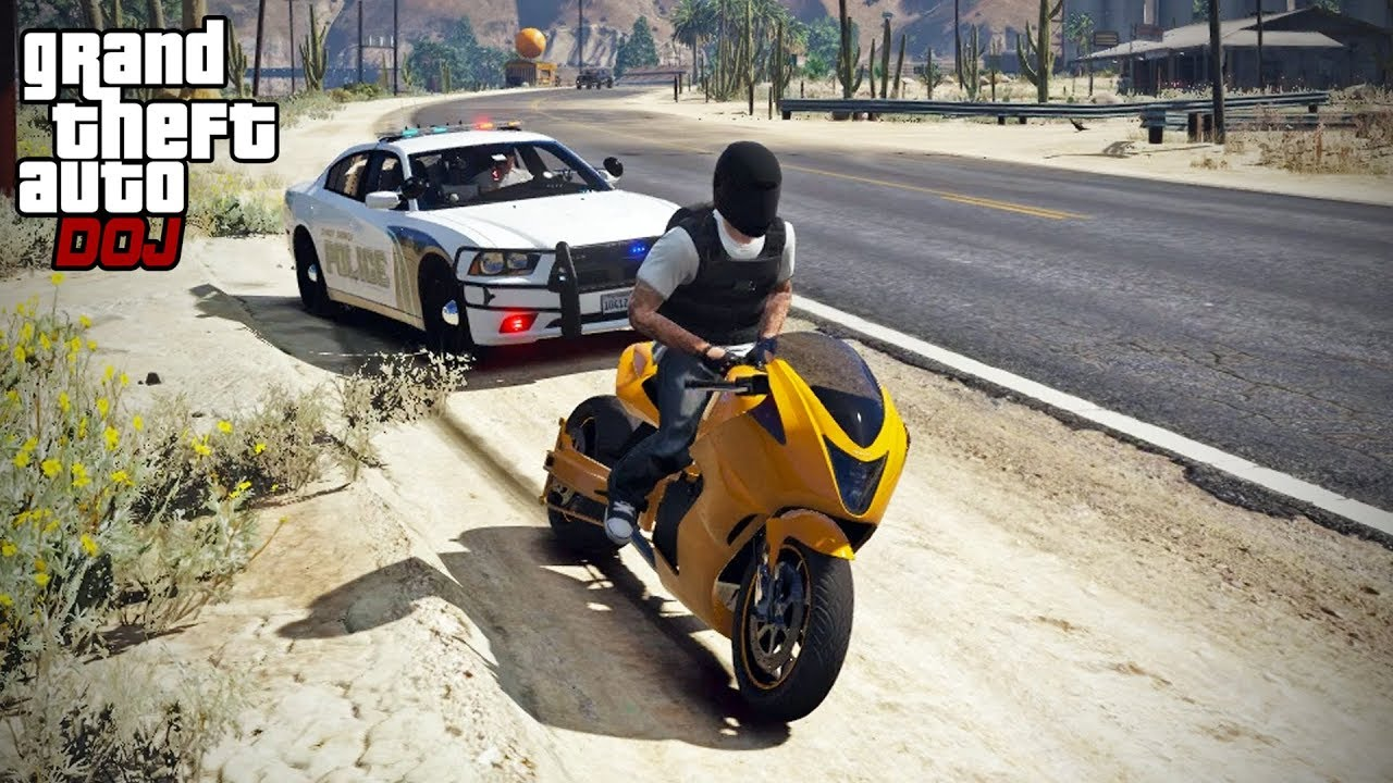GTA 5 Roleplay - DOJ 396 - Fastest Speeding Ticket thumbnail