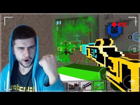 EPIC LASER GUN!!  _0xbadc0de# Gun QUEST HUNTER!! | Pixel Gun 3D