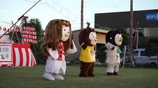 [ みやざき犬 ]20150821_皇寿園・明星園合同夏祭り_『Hinata!』