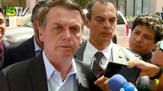Após reunião com George W Bush, Bolsonaro reitera MILITÂNCIA ESQUERDISTA em manifestações