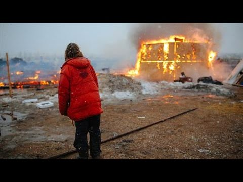 Protestors Leave Dakota Access Pipeline Campground
