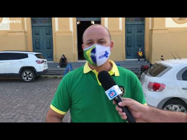 DEPUTADO CABO GILBERTO SILVA FALA SOBRE POLÍTICA EM PEDRAS DE FOGO
