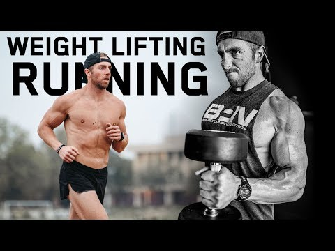 How I Balance Weight Lifting and Running