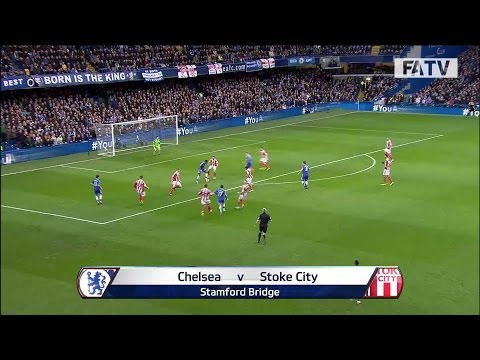 Chelsea vs Stoke City 1-0, FA Cup Fourth Round 2013-14 highlights