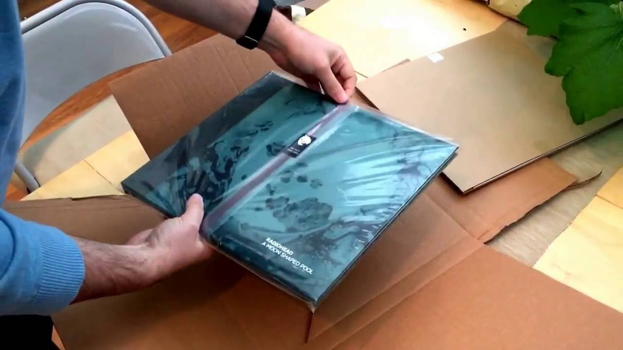 Radiohead Quot A Moon Shaped Pool Quot Special Edition Unboxing