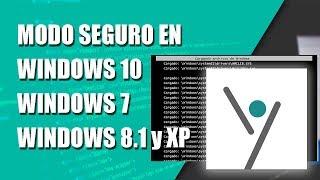 Modo Seguro en Windows 8.1 [Fácil] #YoSoyComputación