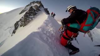 Mont Blanc 4 810 m - na szczyt trasą 3M