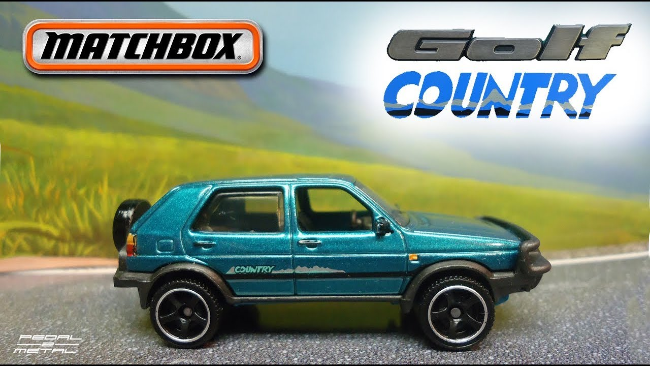 Matchbox '90 VW Golf Country | Review & Quick Detail - YouTube