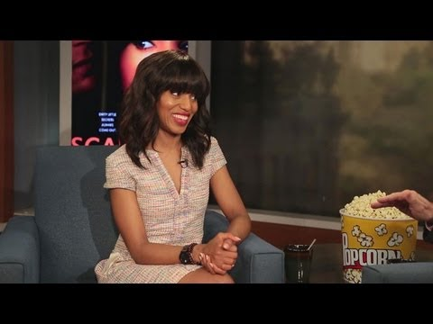 'Scandal's Kerry Washington Interview on ABC's Political Thriller
