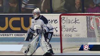 UMaine hockey team opens season with win