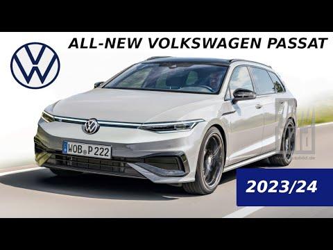 All NEW 2022-2023 Volkswagen Passat B9 - VW Passat B9 & B9 Variant /Rendering in Arteon Design Style
